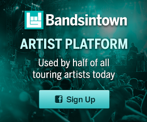 Bandsintown Artist Platform - More than 170,000 artists and growing!  Get started (it's free)